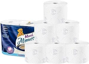 Polish Origin Skin-Friendly 3-Ply Toilet Paper, 100% Native Wood Pulp Toilet Paper, 6 Family Mega Rolls = 22 Regular Rolls, 307 Sheets Per Roll, Safe for All Septic Tank Systems (6 Rolls)