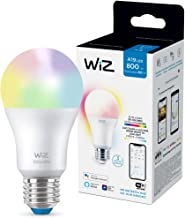 WiZ Foco A19 luz cálida a fría y de colores controlable por WiFi - Compatible con Alexa