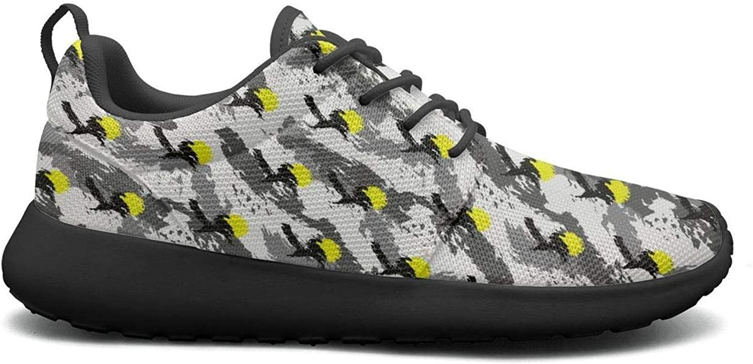 Wuixkas Camo Camouflage Womens Lightweight Mesh Sneakers Comfortable Running shoes