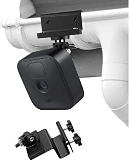 Weatherproof Gutter Mount for Blink XT Outdoor Camera with Universal Screw Adapter - by Wasserstein - Best Viewing Angle f...
