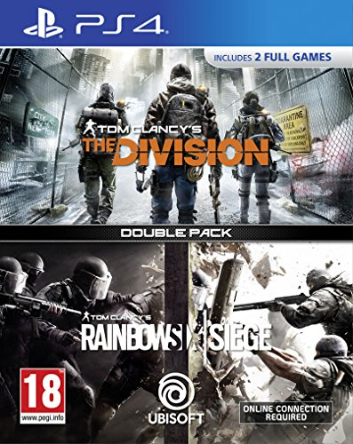 Tom Clancy's The Division + Rainbow Six Siege Double Pack - PlayStation 4 [Edizione: Regno Unito]