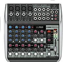 Behringer QX1202USB Xenyx Premium 12 Input 2 Bus Mixer with Audio Interface