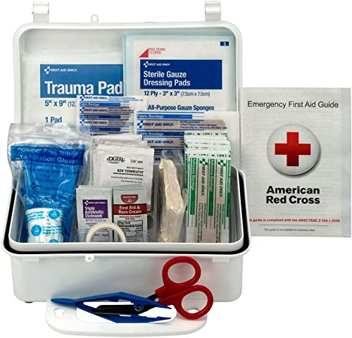 Pac-Kit 6060 57 Piece #10 ANSI First Aid Kit, Weatherproof Plastic Case