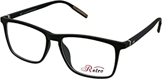 RETRO Unisex-adult Spectacle Frames Rectangular 5505 M.Black/Brown