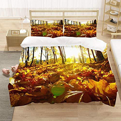 Bedclothes-Blanket Juego de sabanas Infantiles Cama 90,SANDET Ropa de Cama Digital Digital deciduas de Tres Piezas-4_150 * 200 cm (3 Piezas)
