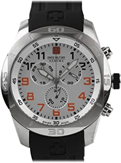 Swiss Military Hanowa Watch 06-4265.04.001.07 - Rubber Gents Quartz Chronograph