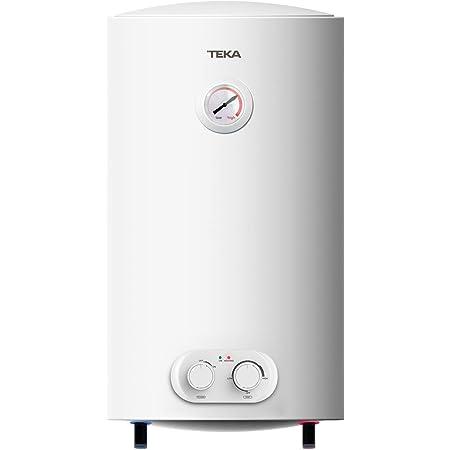 Teka 42080250 Termo EWH50H 50LT HORIZ/Vert(080250) C, Blanco, 50 litros