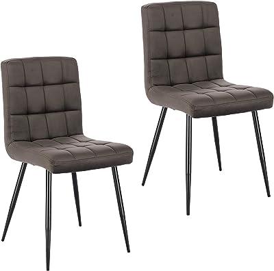 Lestarain Esszimmerstühle 2 Stücke 2er Set Küchenstuhl