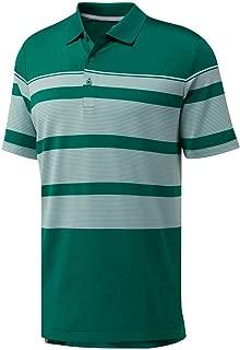 adidas Golf Men's Ultimate Engineered Stripe Polo