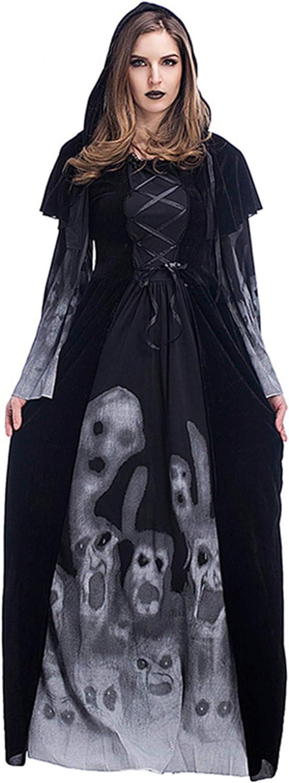 Aiybao Women's Halloween Plus Size Nashville-Davidson Mall Witch Ghost Vampire Costume S Columbus Mall