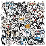 BLOUR 10/30/50 unids/Pack Animales de Dibujos Animados Pegatinas Husky Impermeable Lindo Perros Pegatina para monopatín Guitarra Equipaje Motocicleta niños Juguetes