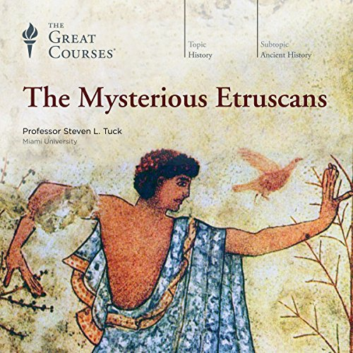 The Mysterious Etruscans audiobook cover art