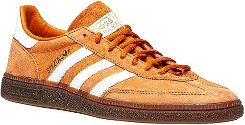 Adidas Originals Handball Spezial, Tech Copper-Cloud blanc-or Metallic, 10,5