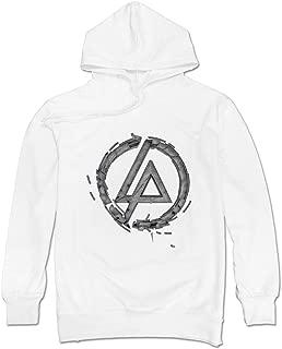 Geek Linkin Park Retro Logo Men's Hooded Hoodies Ash