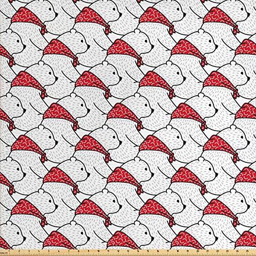 Juego de pegatinas decorativas para azulejos, diseño de oso polar con diseño de animales de polo norte con bufandas, diseño de dibujos animados árticos y 12 unidades, 10 x 10 cm