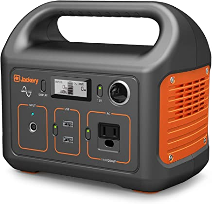 008914ae506b0a Jackery Portable Power Station Explorer 240, 240Wh Emergency Backup Lithium  Battery, 110V/200W