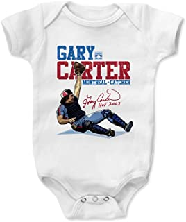 500 LEVEL Gary Carter Montreal Baseball Baby Clothes & Onesie (3-24 Months) - Gary Carter Stance
