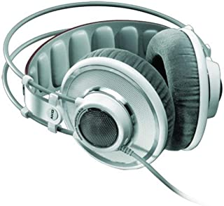 AKG Pro Audio K701 Over-Ear, Open-Back, Flat-Wire, Reference Studio Headphones, White