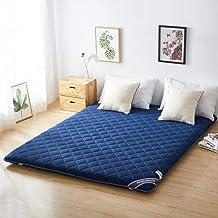 Thicker Mattress,Japanese Tatami Floor Mat,Foldable Bed Tatami Futon Mattresses,Roll Up Mattress Sleeping Mats,Floor Loung...