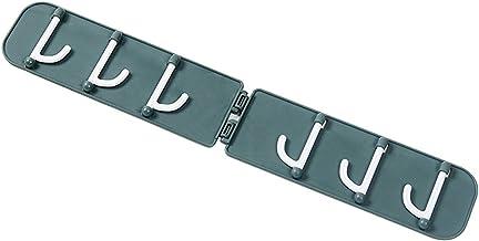 HOKIO Handdoek Haken Zelfklevende Haken Duurzaam en Opvouwbaar Wandhanger Plastic Wandhaak Heavy Duty Wandhanger voor Slaa...