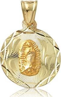 Best 24k gold virgin mary pendant Reviews