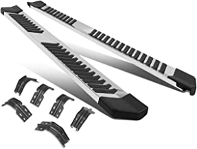 Pair 6 Inches Stainless Steel Side Step Nerf Bar Running Boards Chrome for Ford Super Duty Extended Cab 99-16