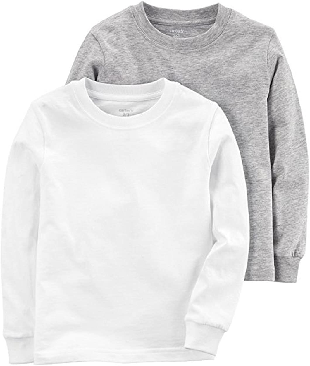 Carter's Boy`s Long Sleeve 2-Pack Cotton Undershirts