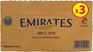 Emirates Drinking Water 330ml, Pack of 3 x 24 (72 Bottles)