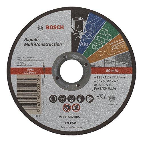 Bosch 2 608 602 385 - Disco corte recto Rapido Multi