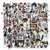 Anime Bungou Stray Dogs Pegatinas Japón calcomanía portátil monopatín Maleta Equipaje Anime Pegatina Dibujos...