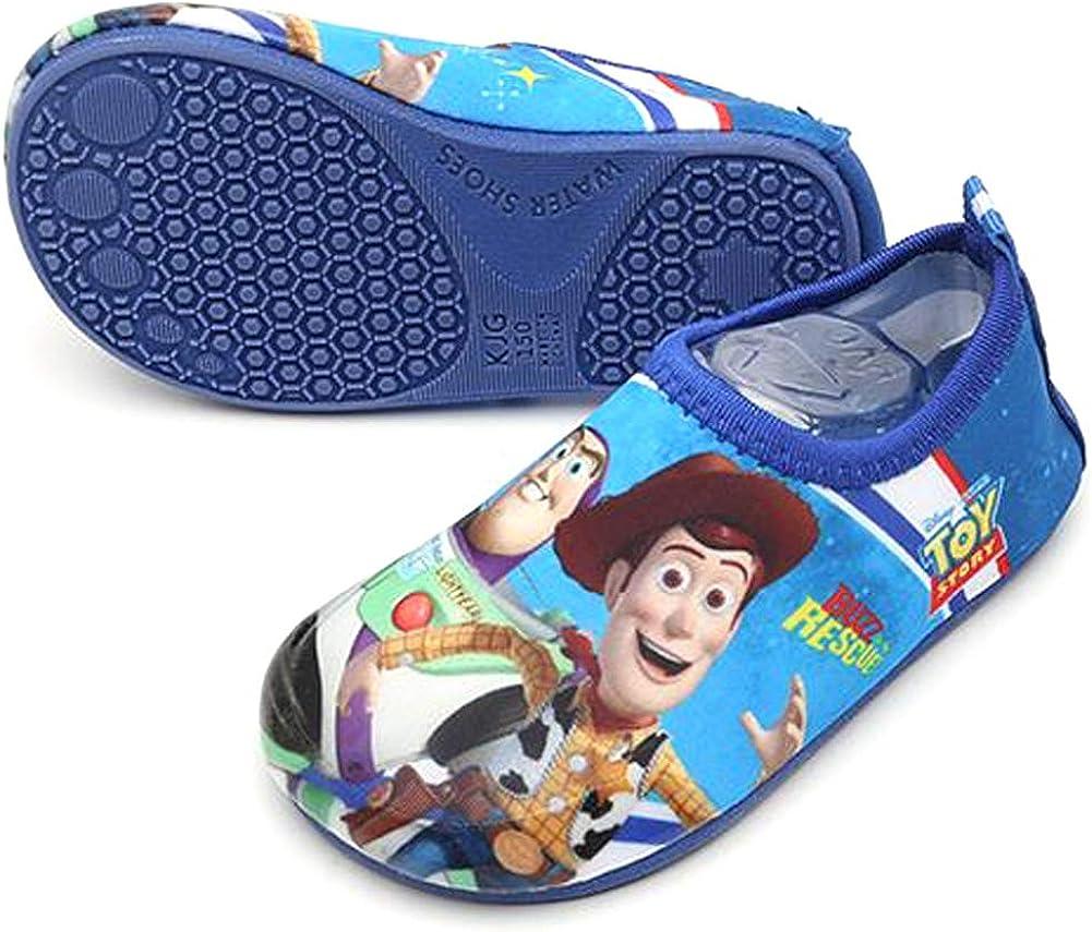 Joah Store Kids Character Water Shoes Boys Girls Elsa Mickey Minnie Hellokitty Sofia Spider-Man Runs Small