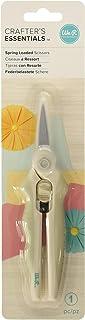 We R Memory Keepers, Tiroirs de rangement, blanc cassé, 34 x 2,3 x 39 cm Ciseaux à ressort 26.6 x 7 x 2.2 cm multicolore