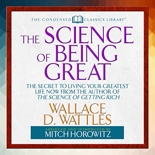 The Science of Being Great audiobook cover art