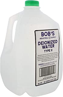 BISupply Deionized Water 1 Gallon Deionized Water Bottle Demineralized Water Deionized Water Type II (2), 1 Gallon Jug