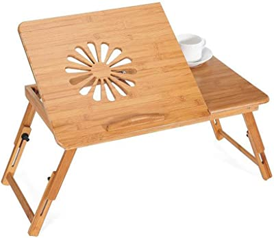 Folding table J-Mesa Plegable Ajustable Ordenador Cama Escritorio ...