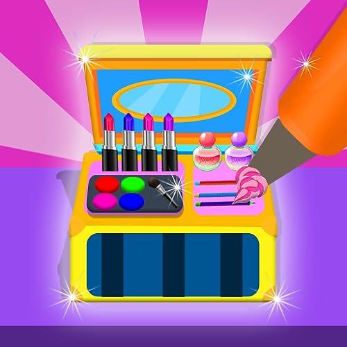 Cosmetic Cake Maker Factory: Makeup Kit Cake Box