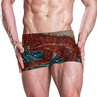 Swim Shorts Underpants OUBAO Mens Boxer Briefs Big Tall Underwear Swim Trunks Bikini Tongs
