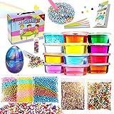 DIY Slime kit - Kinder Spielzeug, Schleim Selber Machen mit 12 Farben Crystal Clay Schlamm, 1 Galaxy...