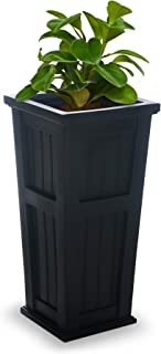 Mayne Inc 4843-B Cape Cod Tall Planter Black