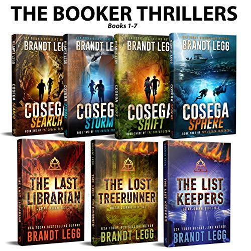 The Booker Thrillers Books 1-7