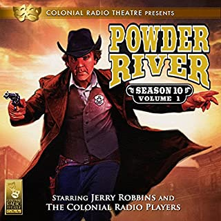 Powder River audiobook cover art