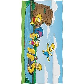 30x60 New Bart The Simpsons Beach Towel