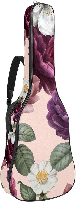 Acoustic Guitar Bag Floral Flowers Shoulder Adjustable Popular Manufacturer direct delivery standard Strap Gui