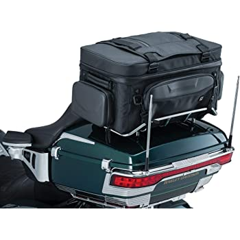 RICKRAK STRAPLESS QUICK ATTACH FOR HARLEY DAVIDSON TOUR-PAK BAGS T-BAGS T BAGS TOP DEKK II MOTORCYCLE LUGGAGE