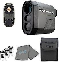 Nikon Prostaff Laser Rangefinder Bundle with 3 CR2...