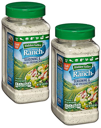 Hidden Valley Original Ranch Seasoning & Salad Dressing Mix, 16 Oz (Pack Of 2)