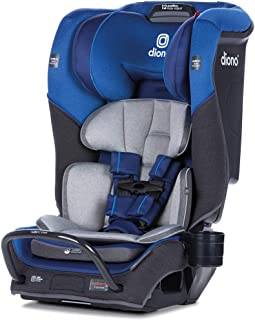 Diono 2020 Radian 3QX, 4 in 1 Convertible, Safe+ Engineering, 3 Stage Infant Protection, 10 Years 1 Car Seat, Fits 3 Across, Blue Sky
