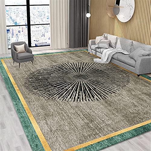alfombra para silla gaming alfombras de salon modernas Dormitorio alfombra gris antiincrustante...