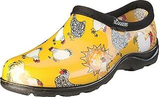 Sloggers Women's Chicken Print Short Rain Shoes