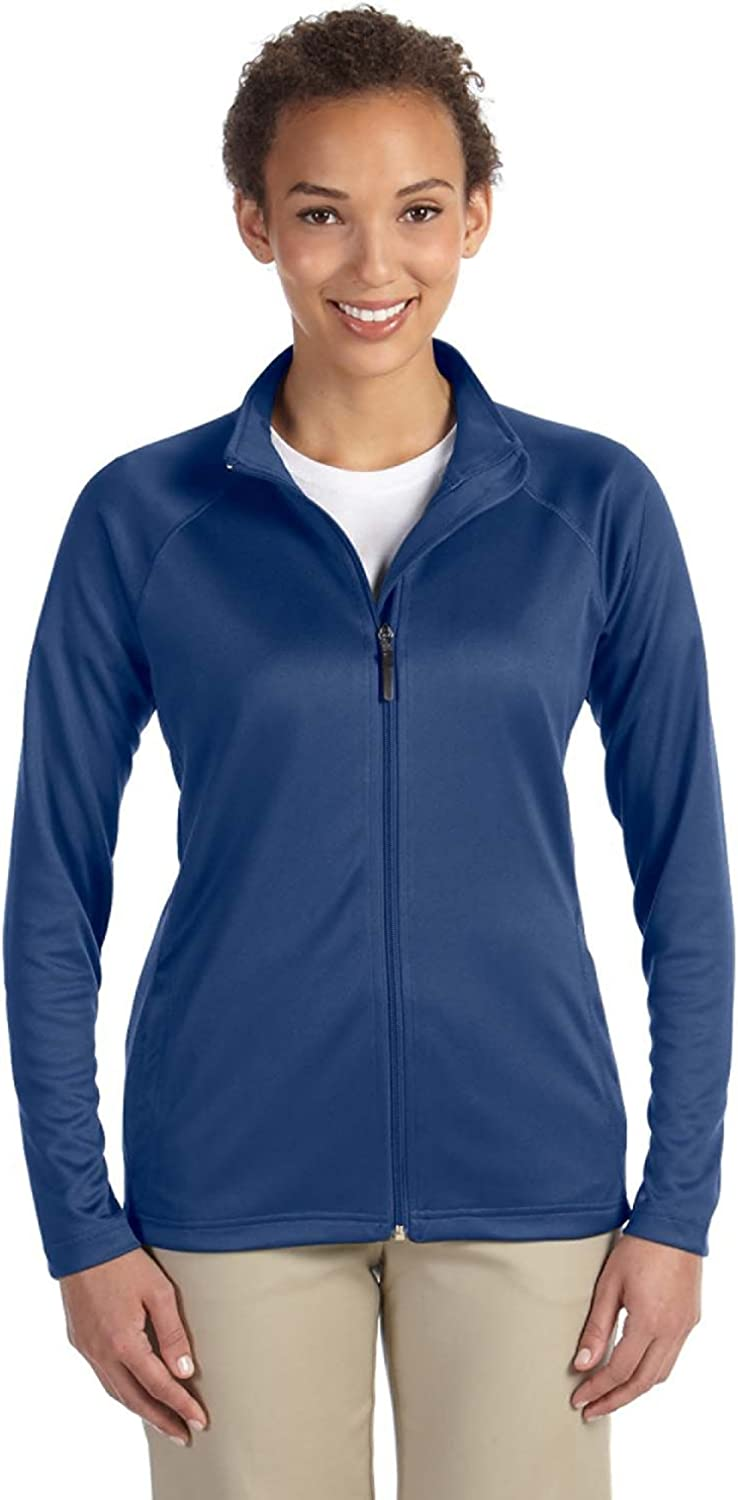 Devon & Jones Ladies Stretch TechShell Compass FullZip